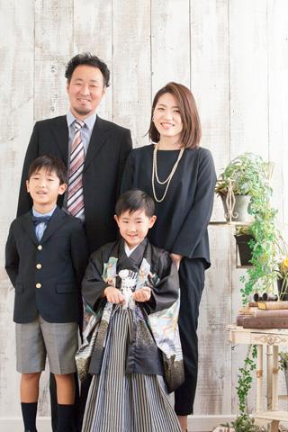 753 家族 写真